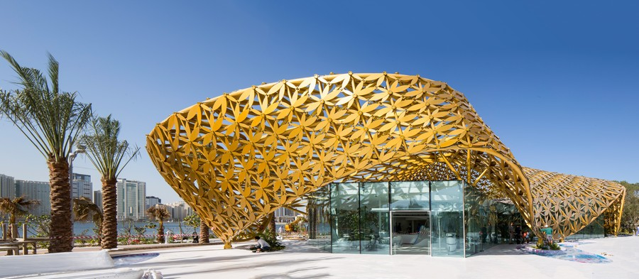 Butterfly Pavilion In Sharjah E Architect