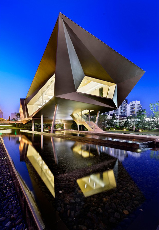 Rizhao China  city images : City Crossing Sales Office Rizhao Building e architect