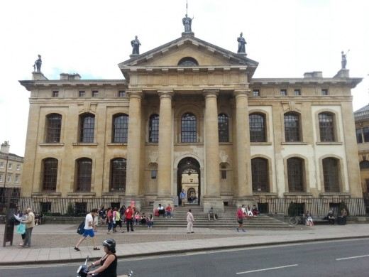 Clarendon, University of Oxford Architecture Tours