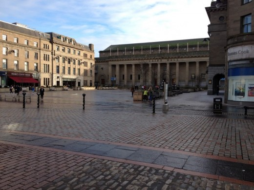 The Caird Hall building