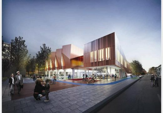 Finsbury Leisure Centre Design Competition Winner