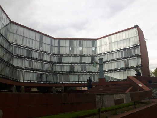 Florey Building Oxford by James Stirling architect