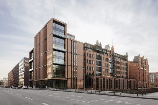 Gebr. Heinemann Headquarters Hamburg Building