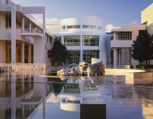 The Getty Center Los Angeles museum building