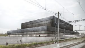 Ice Sports Center in Lausanne building