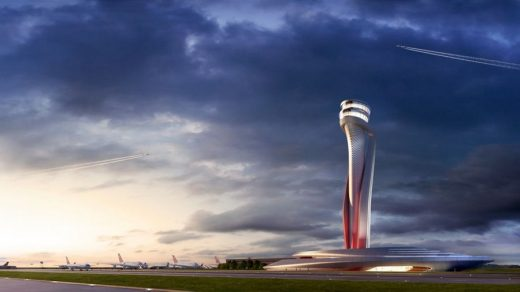 Istanbul Airport New Traffic Control Tower Building