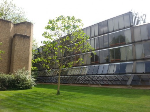 The Hayward and De Breyne building, Keble College by ABK