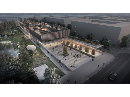 Latvia Museum of Contemporary Art Architecture Competition Concept by Adjaye Associates and AB3D