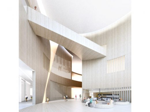 Latvia Museum of Contemporary Art Architecture Competition Concept by Lahdelma & Mahlamäki Architects and MADE arhitekti