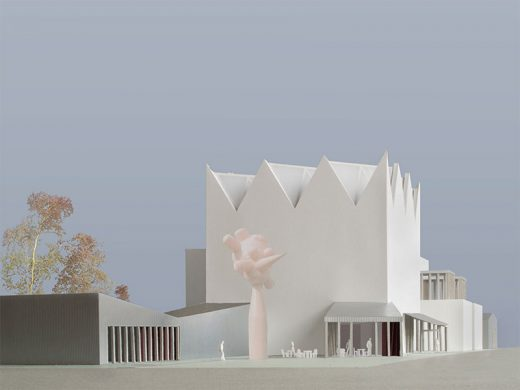 Latvia Museum of Contemporary Art Architecture Competition Concept by Caruso St John Architects and Arhitektu birojs Jaunromāns un Ābele