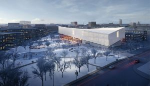 Latvia Museum of Contemporary Art Architecture Competition Concept by Henning Larsen Architects and MARK arhitekti