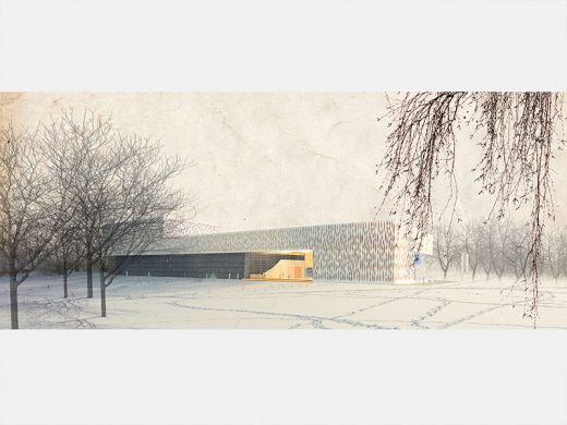 Latvia Museum of Contemporary Art Architecture Competition Concept by Neutelings Riedijk Architects and Brigita Bula arhitekte