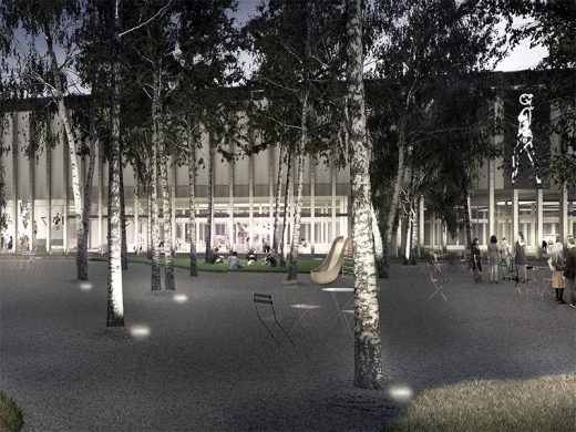 Latvia Museum of Contemporary Art Architecture Competition Concept by Sauerbruch Hutton and Arhitekts Ingurds Lazdiņše