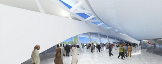 New Sports Arena Building in Qatar designed by Arup Associates architects
