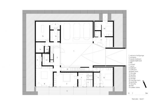 Observation House plan