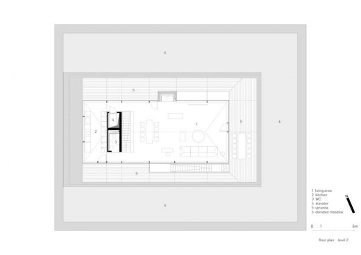 Observation House upper plan