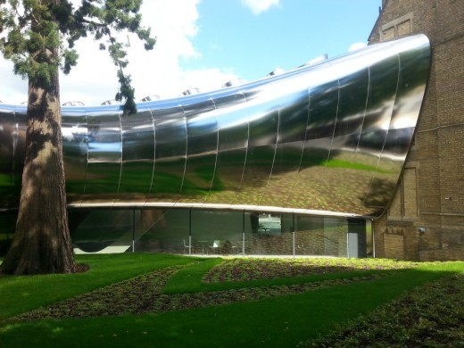 Saint Antony's College building design by Zaha Hadid Architects