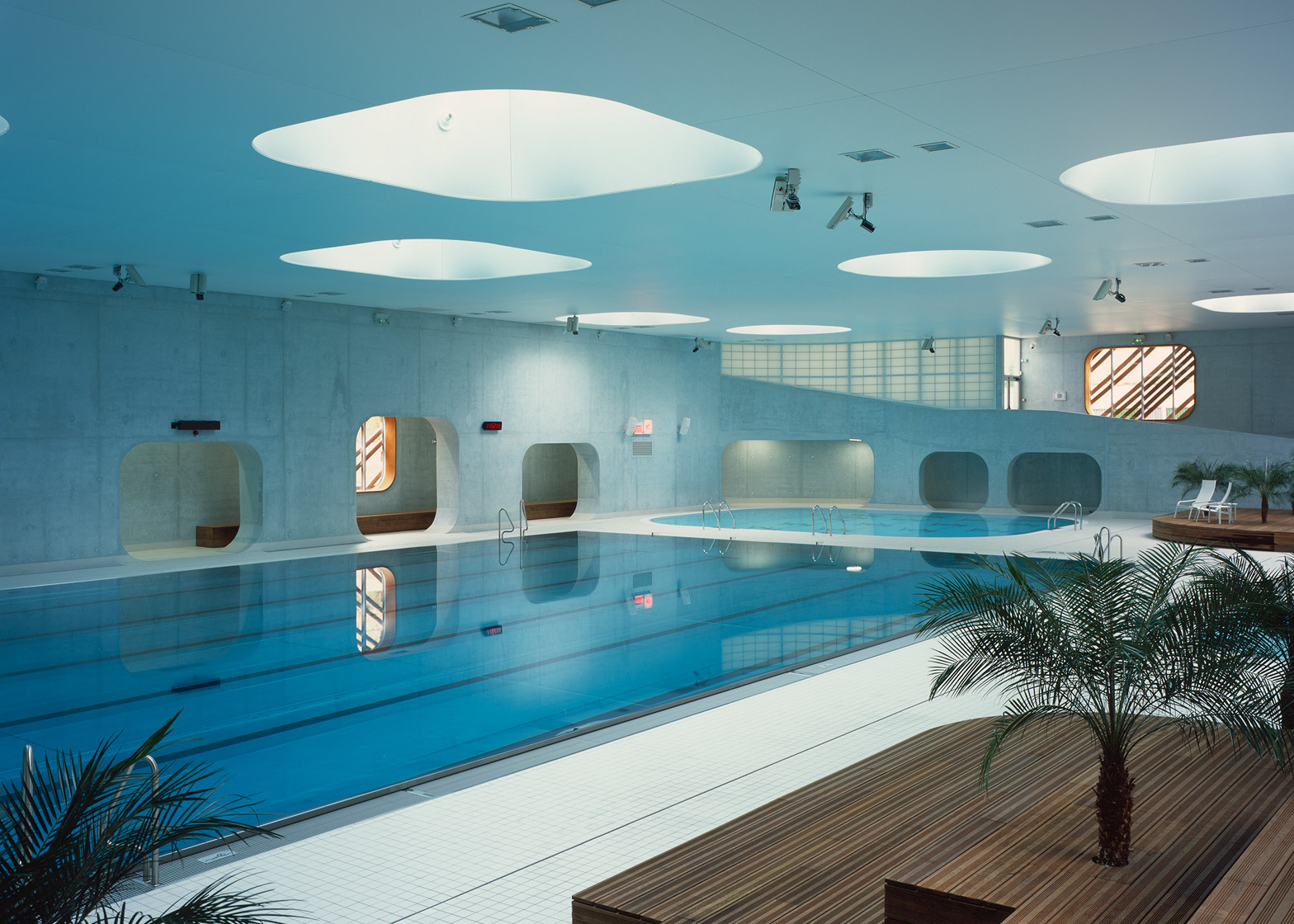 Piscine issy les moulineaux hb6 e architect for Piscine paris