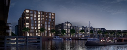 Scheepmaker apartments in haarlem e architect for Apartment building maker