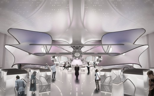 Science Museum Mathematics Gallery by Zaha Hadid Architects