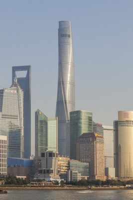 Shanghai Tower Building in China