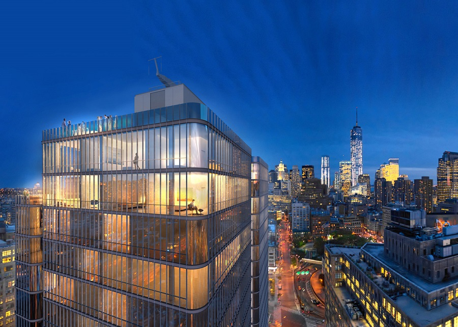 soho tower new york building by renzo piano e architect. Black Bedroom Furniture Sets. Home Design Ideas