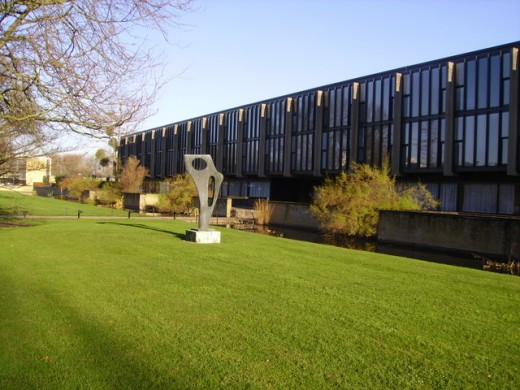 St Catherine's College, Oxford Building by Arne Jacobsen