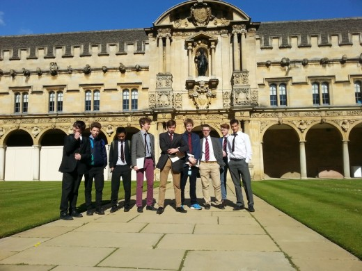 St John's College, Oxford Architecture Tours