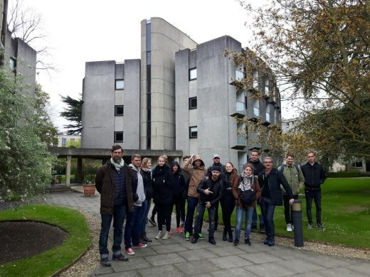 Students from Berlin on Oxford architecture tour