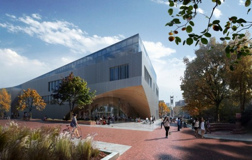 Temple University Library Building