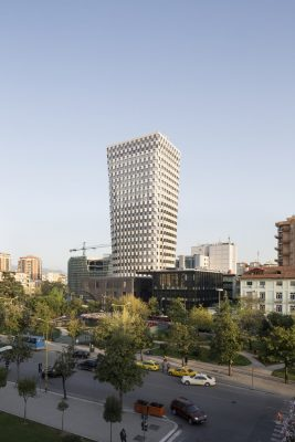 TID Tower Tirana Building