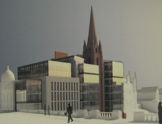 Triple Kirks Aberdeen building development