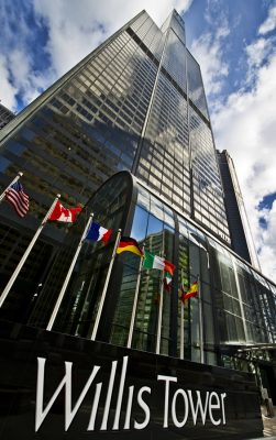Willis Tower by Skydeck Chicago