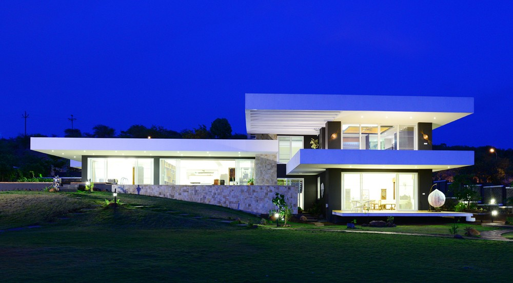 Indian houses new residences in india e architect for Architecture design for home in pune
