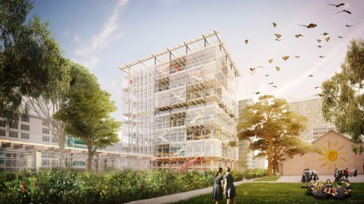 new Arthur Phillip High School and Parramatta Public School