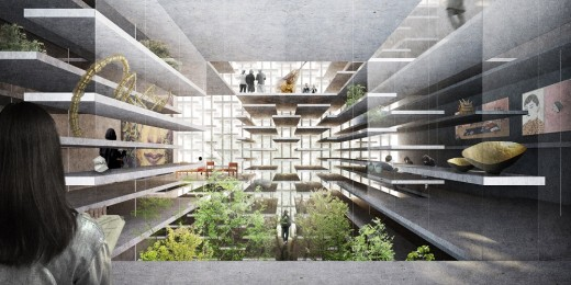 Bangkok Artists Retreat Design Competition 3rd place