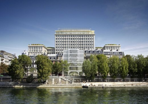 Boulevard Morland Paris building design by David Chipperfield Architects