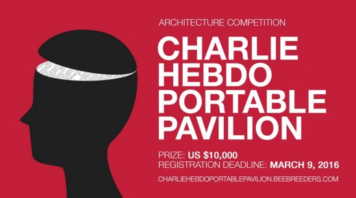 Charlie Hebdo Portable Pavilion Design Competition