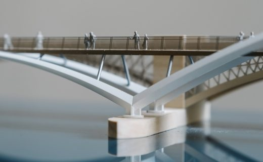 Diamond Jubilee Bridge in London design