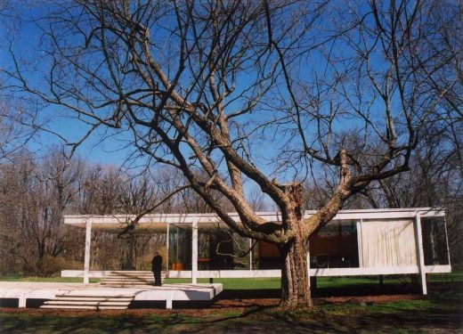 Modern Residence by Mies van der Rohe in Illinois