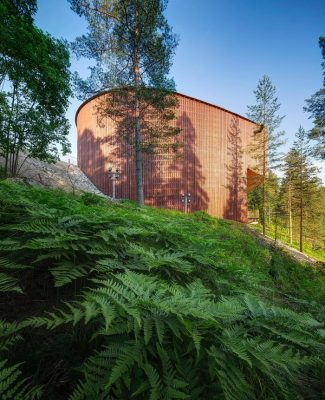 The Finnish Nature Center building - Nordic Pavilion at the Venice Biennale 2018