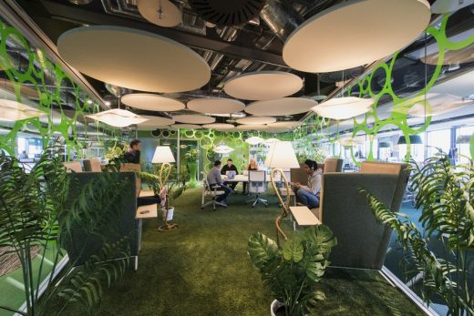 Google Campus Dublin interior design