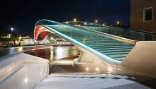 Venice Bridge by Architect Santiago Calatrava