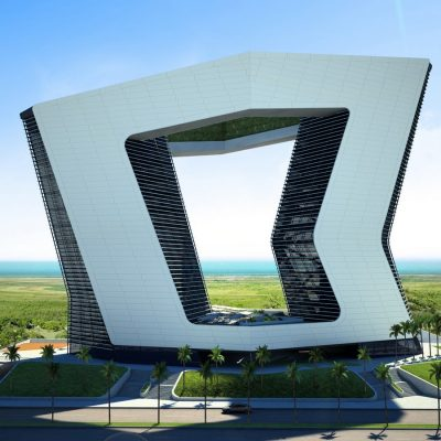 GSI tower building Cancun