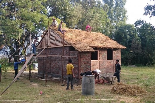 Housing for 2015 Nepal earthquake victims by architect Shigeru Ban