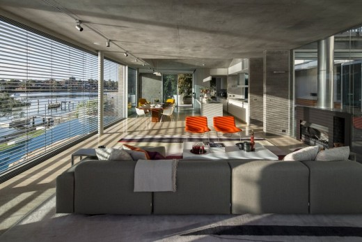 Waterfront Residential Development in New South Wales design by Renato D'Ettorre Architects, Australia