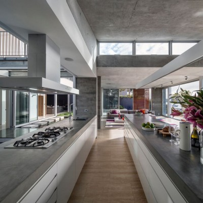 Link House Sydney waterfront property by Renato D'Ettorre Architects