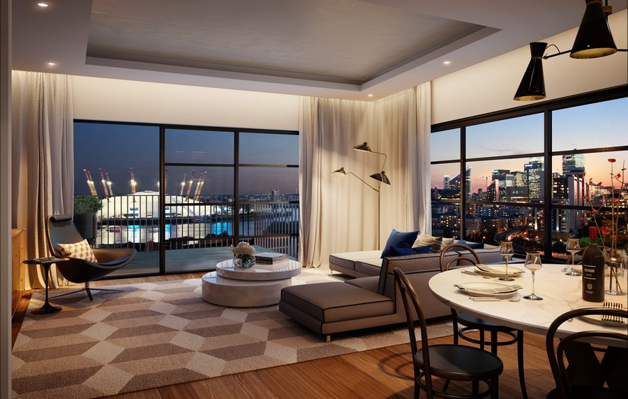 London City Island Apartments at Leamouth Peninsula - e ...