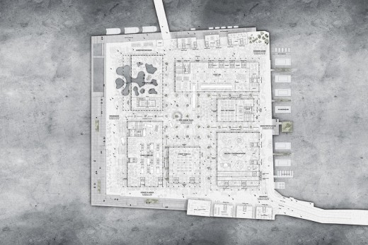 Masterplan for Christiansholm