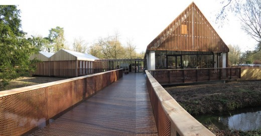 Mottisfont Abbey Welcome Centre